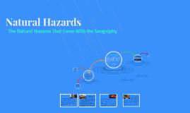 4.9z Natural Hazards