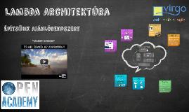 Open Academy - Lambda Architektúra Amazonon