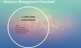 Behavior Management Flowchart