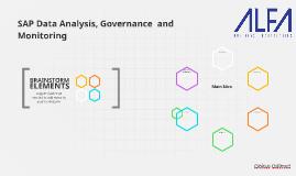 Data Analysis and Monitoring