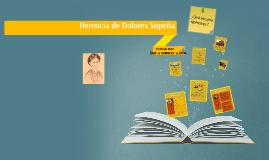 HERENCIA DE DOLORES SOPEÑA