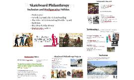Skateboard Philanthropy