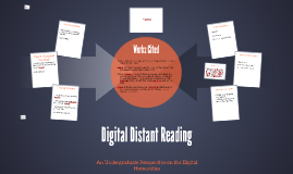 Digital Distant Reading