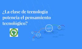 Educación en tecnologia