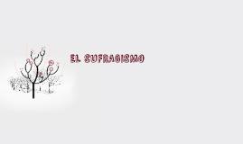 Copy of EL SUFRAGISMO