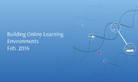 Building Online Learning Environments