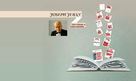 JOSEPH JURAN
