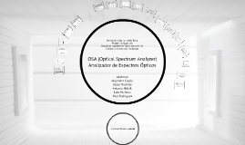 Copy of Analizador de espectros ópticos