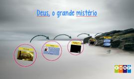 1ª aula Deus, o grande mistério