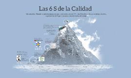 Copy of Las 6 S de la Calidad