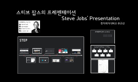 Copy of 스티브 잡스의 프레젠테이션 Steve Jobs' Presentation