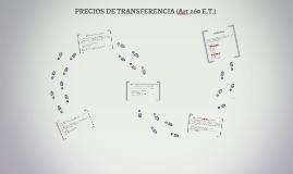 PRECIOS DE TRANSFERENCIA (Art 260 E.T.)