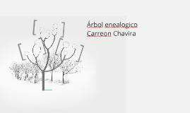 Árbol enealogico
