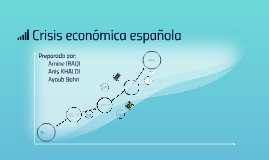 Crisis económica española