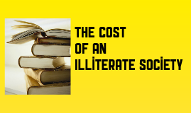 the human cost of an illiterate society jonathan kozol essay Jonathan kozol, the human cost of an illiterate society the human cost of an illiterate society by jonathan kozol points out the hardships that people go through on a daily basis because they are functionally illiterate.