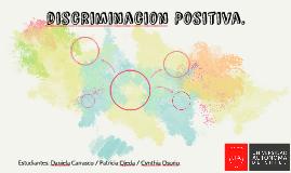 discriminacion Positiva.
