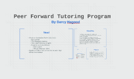 Peer Forward Tutoring Program