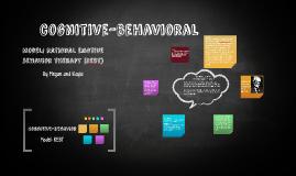 Copy of cognitive-behavioral
