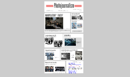 Photojournalism and photo edition