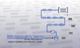 Web-портал міста Чернівці