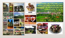 Copy of ESTUDIO DE FACTIBILIDAD PARA LA CREACIÓN DE UNA EMPRESA DE R