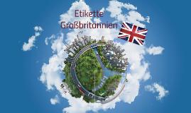 Businessetikette Großbritanien