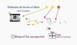 Fidelización de Servicio al Cliente
