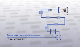 Pasos para hacer un horno solar