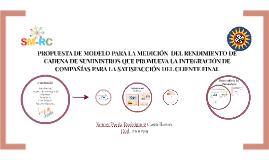 PROPUESTA DE MODELO PARA LA MEDICIÓN  DEL RENDIMIENTO DE CAD