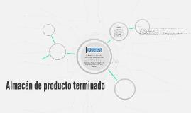 Copy of Almacen de producto terminado