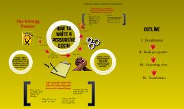 Persuasive Essay Writing