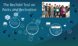 The Bechdel Test on Parks and Recreation