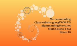 Mr. Lammerding