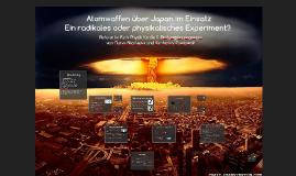 Japan über Atomwaffen im Einsatz