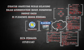 Strategi Marketing public relations