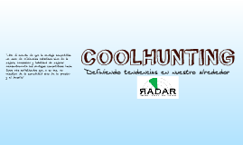 Coolhunting - Information Service