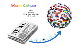 World Citizen - U3A6A1&2