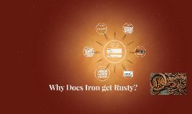 Copy of Why does Iron get rusty?
