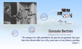 Gonzalo Bertrán