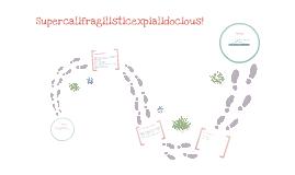 Word Story-Supercalifragilisticexpialidocious
