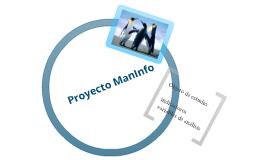 Proyecto man info
