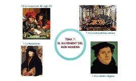 Copy of tema 7: L'Humanisme