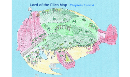 Lord of the Flies Map