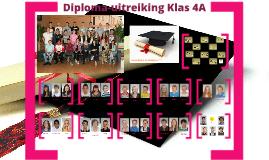 Diploma-uitreiking Klas 4A