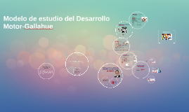 Modelo de estudio del Desarrollo Motor-Gallahue