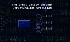 Copy of The Great Gatsby through Structuralist Criticism