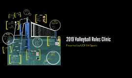 Volleyball Rules Clinic Fall 2016