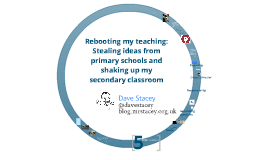 Rebooting my teaching: Stealing ideas from primary schools and shaking up my secondary classroom