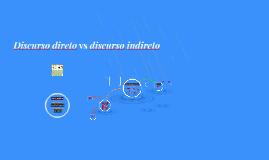Copy of Discurso direto vs discurso indireto
