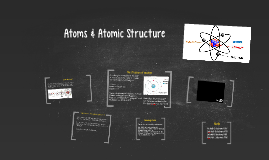 Atoms & Atomic Structure